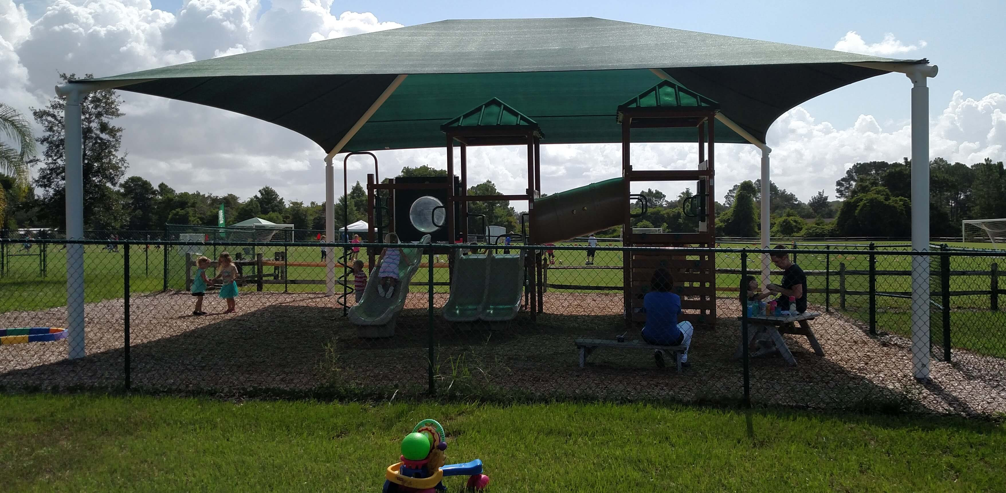 First Baptist Church Windermere playground shade